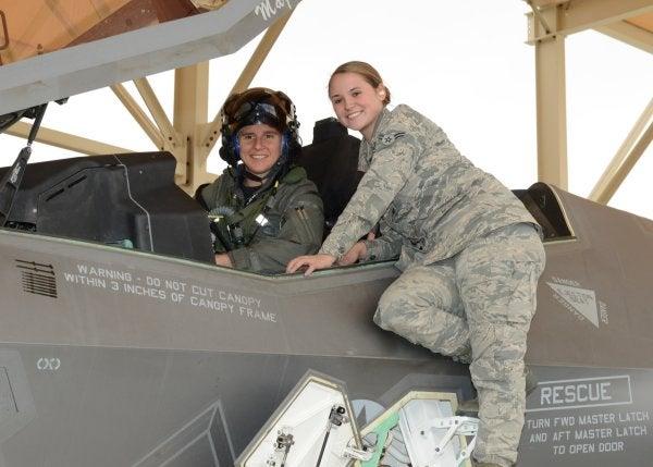 First Female F-35 Test Pilot Completes Flight Mission
