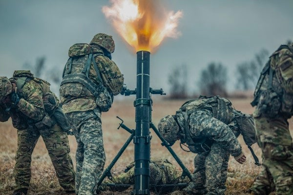 We Salute The Public Affairs Officer Who Simply Tagged This Photo As 'Fire Mortar Boom'