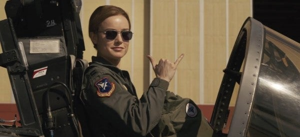 It Looks Like The Real Star Of 'Captain Marvel' Is The Air Force