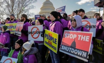 Government-Employed Vets Are Getting Payless Paychecks As The Shutdown Drags On
