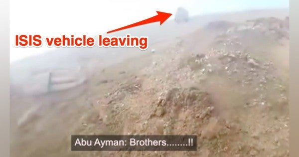 ISIS Commander Tries Shooting Combat Propaganda. Then His 'Brothers' Leave Him For Dead After He Gets Shot