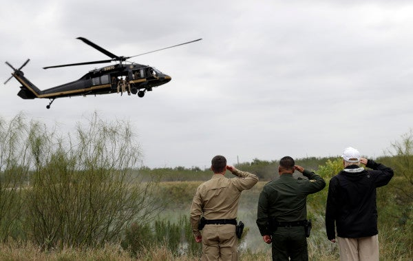 Border Security Workers Aren't Getting Paid Because Of A Government Shutdown Over Border Security