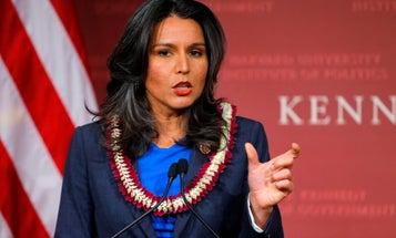 Army Vet Tulsi Gabbard Says She's Running For President In 2020