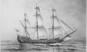 The Brits Found The Wreck Of A Continental Navy Warship. Now They're Plotting Their Revenge