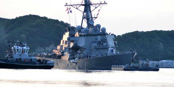 The Navy's Secret Investigation Into The USS Fitzgerald Collision Details A Disaster That Was Just Waiting To Happen