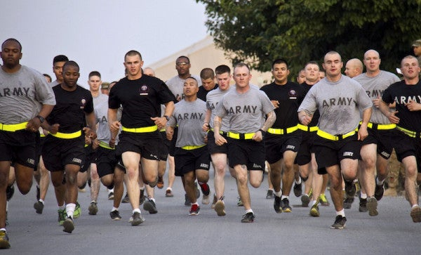Army Finally Realizes Reflective Belts Aren't Needed In Daylight