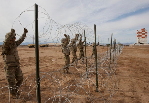 The US Military Will Remain At The Southern Border Through Most Of 2019