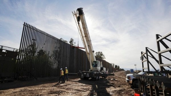 Army Secretary: Contractors, Not Soldiers, May End Up Building Trump's Border Wall