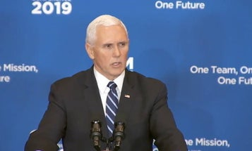 Pence Mentions 'Wolf Pack Of Rogue States' Which May Or May Not Be Roaming Vegas Searching For Cocaine