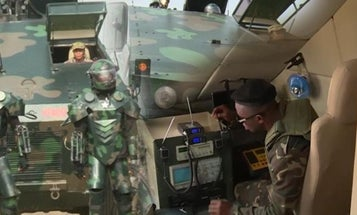 We're Not Sure Whether To Laugh Or Cry At This Display Of 'Powered Armor' In Ghana
