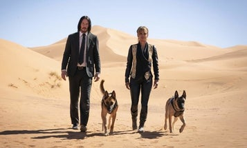 The Latest 'John Wick' Trailer Has War Dogs, Suave Super Assassins, And A Gunfight On Horseback