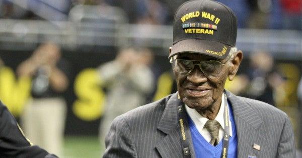 Senate Honors Richard Overton, The 112-Year-Old World War II Veteran Who Died Last Month