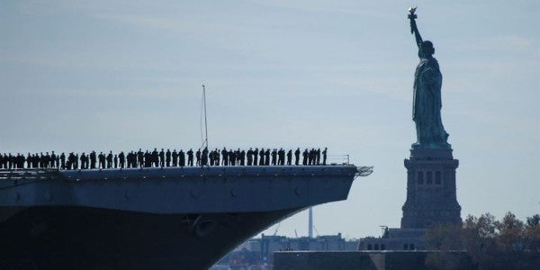The Navy's Newest Fleet Is Bulking Up For 'Leaner, Agile' Operations To Counter Russia In The Atlantic And Arctic