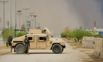 Taliban Kill Dozens Of Afghan Security Forces In Brazen Suicide Attack