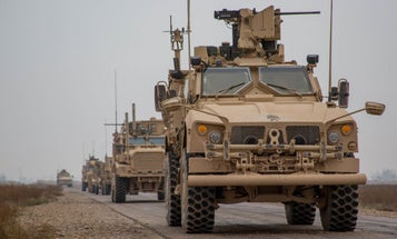 Suicide Bomber Rams Joint US-Kurdish Convoy In Syria