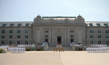 The US Naval Academy Is Literally Falling Apart
