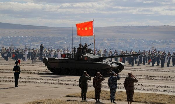 The Chinese Army Has No Idea What To Do With Its Fancy New Tanks