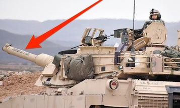 We Salute The US Army Crew Who Named Their Tank 'Dropped As A Baby'