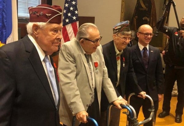 France Bestows Its Highest Honor On 3 American WWII Veterans