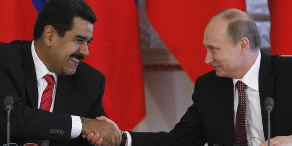 Russian Private Military Contractors Are Reportedly In Venezuela To Protect Maduro