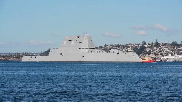 The Navy's Newest Destroyer Is As Much An Experiment As It Is A Ship-Killer