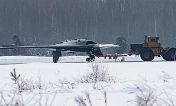 Photos Of Russia's New Stealth Drone Just Leaked. Here's What You Should Know