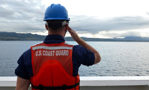 Coast Guard Members Are Finally Getting The Pay They're Owed From The Government Shutdown