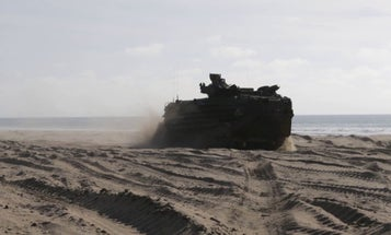 The Marine Corps Wants Some Extra Firepower On Its Next Amphibious Combat Vehicle