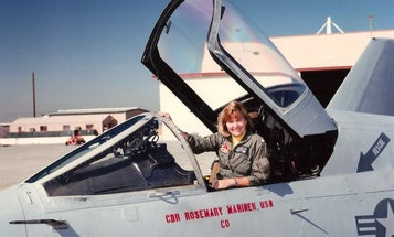The Navy Is Flying Its First Ever All-Female Missing Man Formation To Honor A Trailblazing Aviator