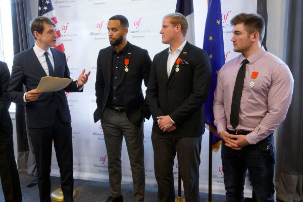 3 Americans Who Foiled Paris Train Attack Awarded French Citizenship