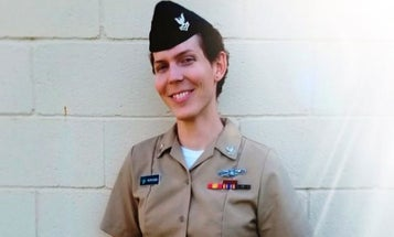A Transgender Sailor Who Challenged Trump's Military Ban Will Attend The State Of The Union