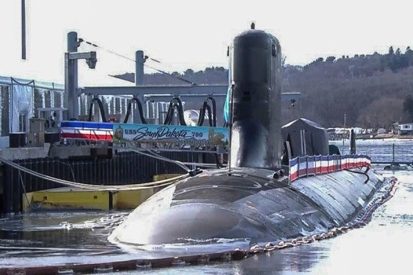 'Most Modern Submarine In The World' — Meet The New USS South Dakota