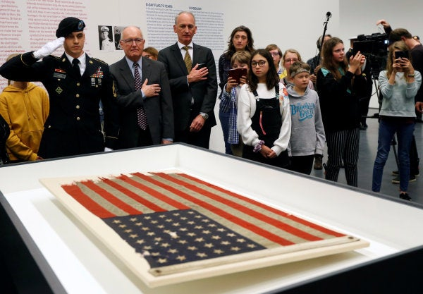 An American Flag That Led US Troops To Normandy On D-Day Is Finally Coming Home After 75 Years