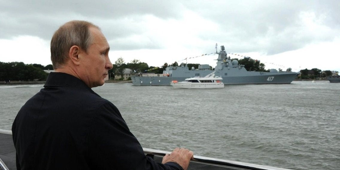 Russia Claims It's Arming Warships With A New Weapon That Makes Enemies Want To Vomit