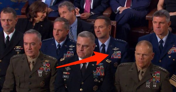 National Guard general admits his ribbons were upside down during State of the Union