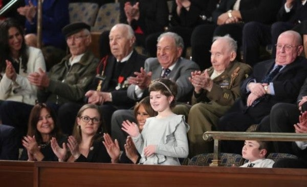 3 World War II veterans attended the State of the Union. Here are their incredible stories