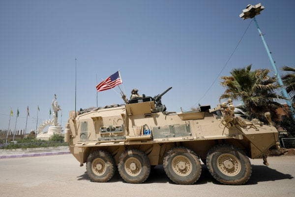 The US military is reportedly withdrawing all forces from Syria by the end of April