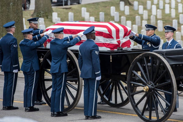 Arlington National Cemetery quietly changed its policy on 'full military honors' for Medal of Honor heroes