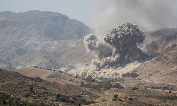 What peace deal? US launches airstrike on Taliban fighters attacking Afghan security forces