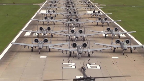 Air Force F-35 pilot on flying the legendary A-10: 'like Chewbacca with chainsaw arms'