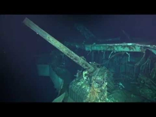 Wreckage of aircraft carrier at the heart of the Doolittle Raid found in South Pacific
