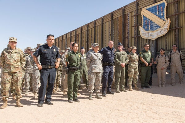 Troops are withdrawing from the US-Mexico border. Not the Arizona National Guard