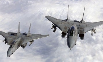 Looks like the F-14 Tomcat may have more than just a cameo in 'Top Gun 2'
