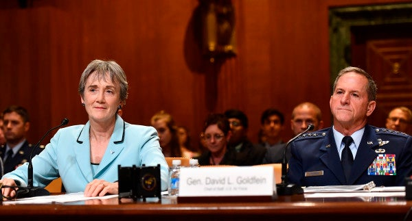Top Air Force leaders propose allowing families to withhold rent for substandard base housing