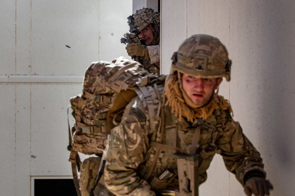 The Marines are training to fight big wars again