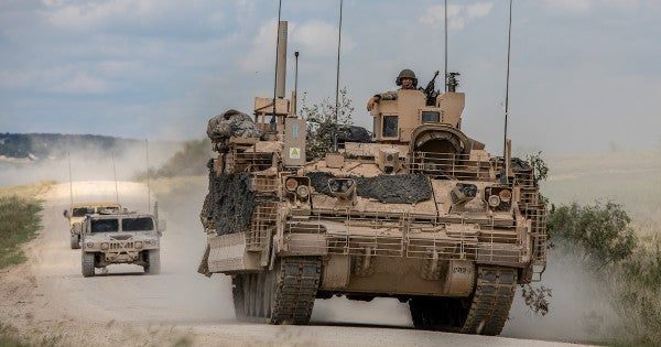 The Army's replacement for its Vietnam-era armored personnel carrier is officially on the horizon