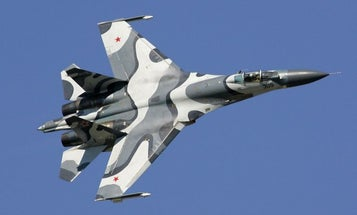 Russian jet fighter buzzes two US spy planes over Black Sea