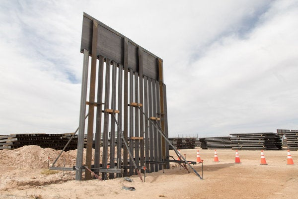 Trump claims border wall is under construction 'right now' using fence repair footage from 5 months ago