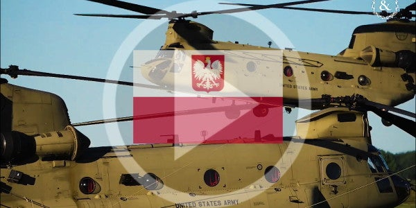 6 US soldiers in Poland injured after their vehicle 'swerved off the road'