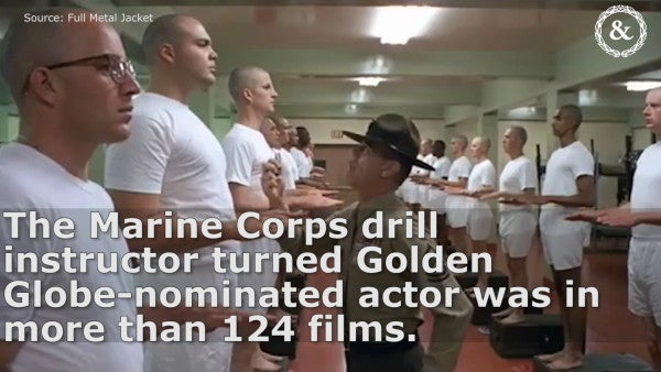 R. Lee Ermey was snubbed at the Oscars